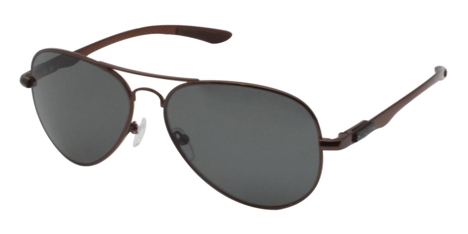 Mckain-Brown-Aviator-Metal-Sunglasses-additional1
