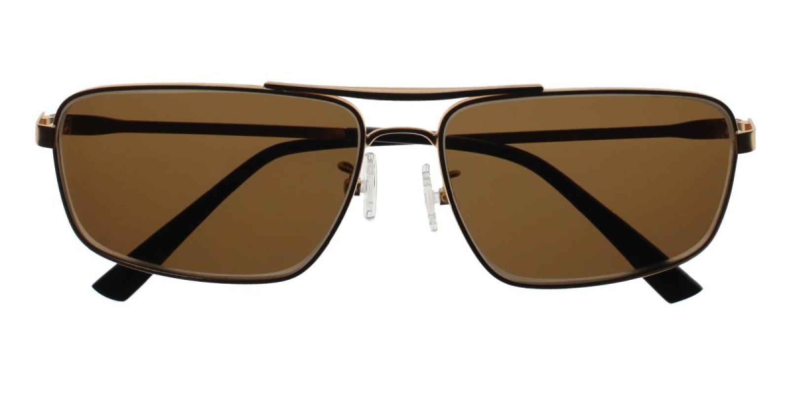 Santorini-Gold-Aviator-Metal-Sunglasses-detail