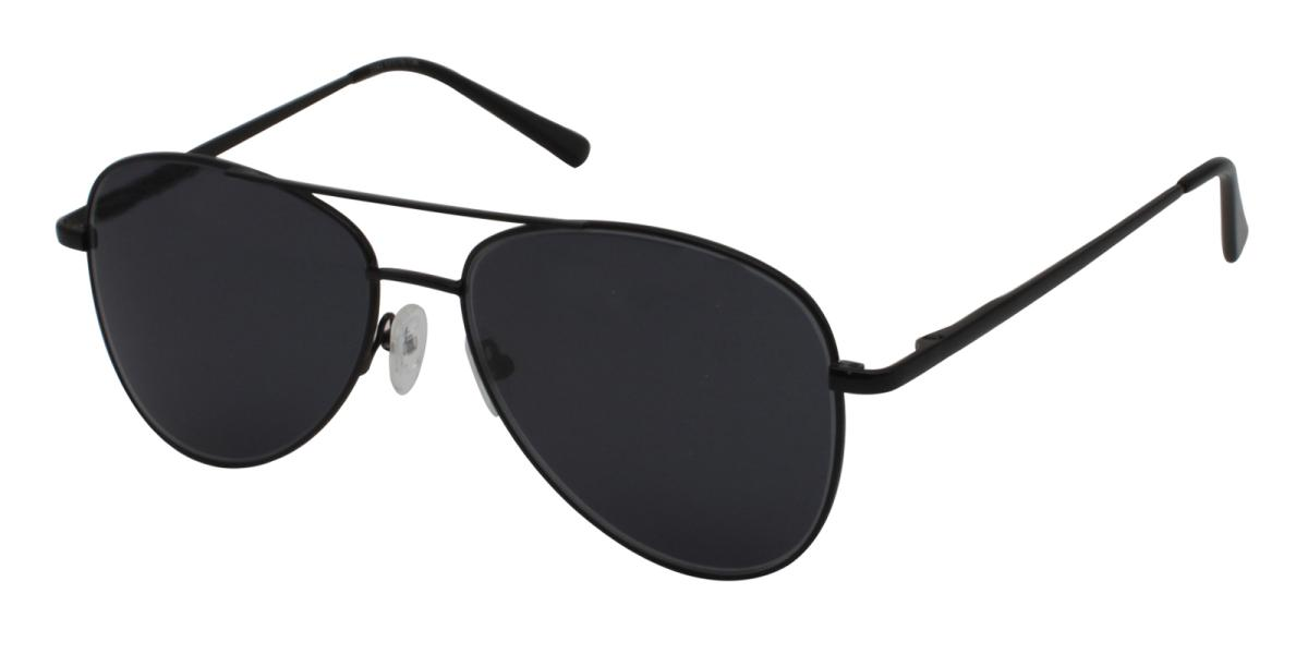 Eudora-Black-Aviator-Metal-Sunglasses-additional1