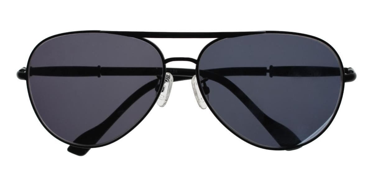 Seeker-Black-Aviator-Metal-Sunglasses-detail
