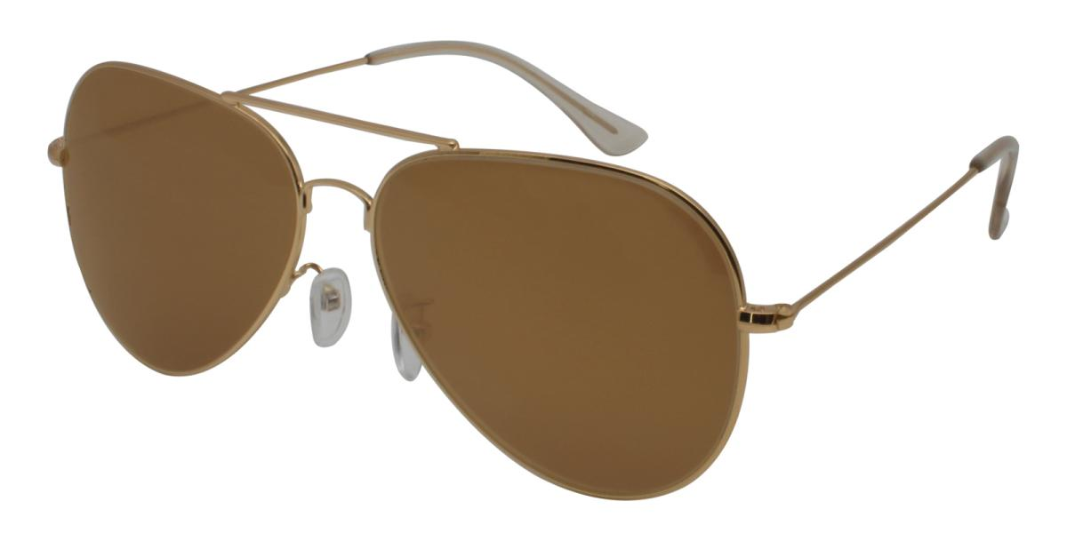 Aoline-Gold-Aviator-Metal-Sunglasses-additional1