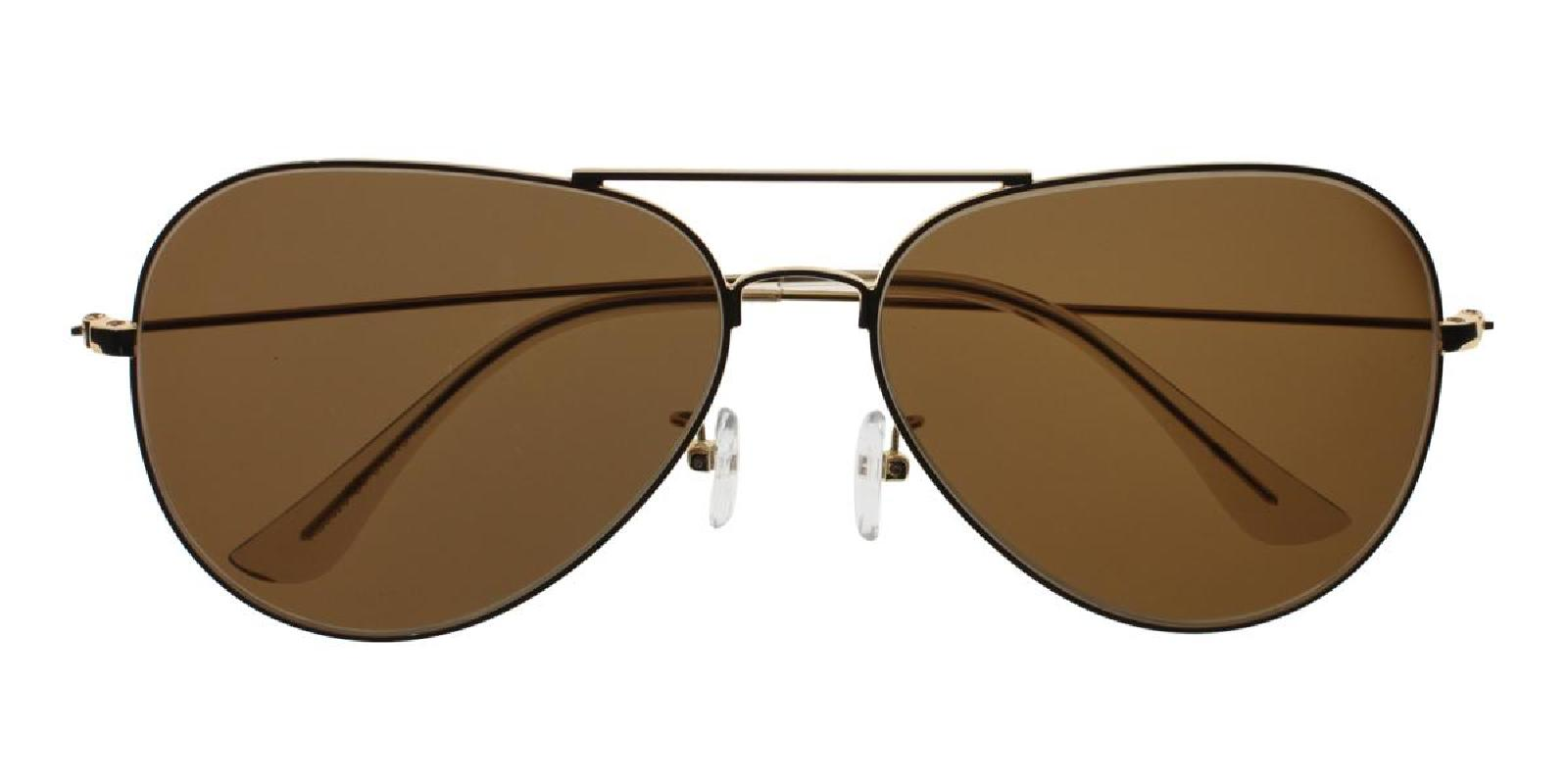 Aoline-Gold-Aviator-Metal-Sunglasses-additional2