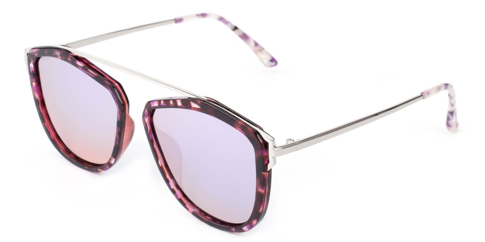 Phantom-Purple-Aviator-Combination / Metal / TR-Sunglasses-additional1