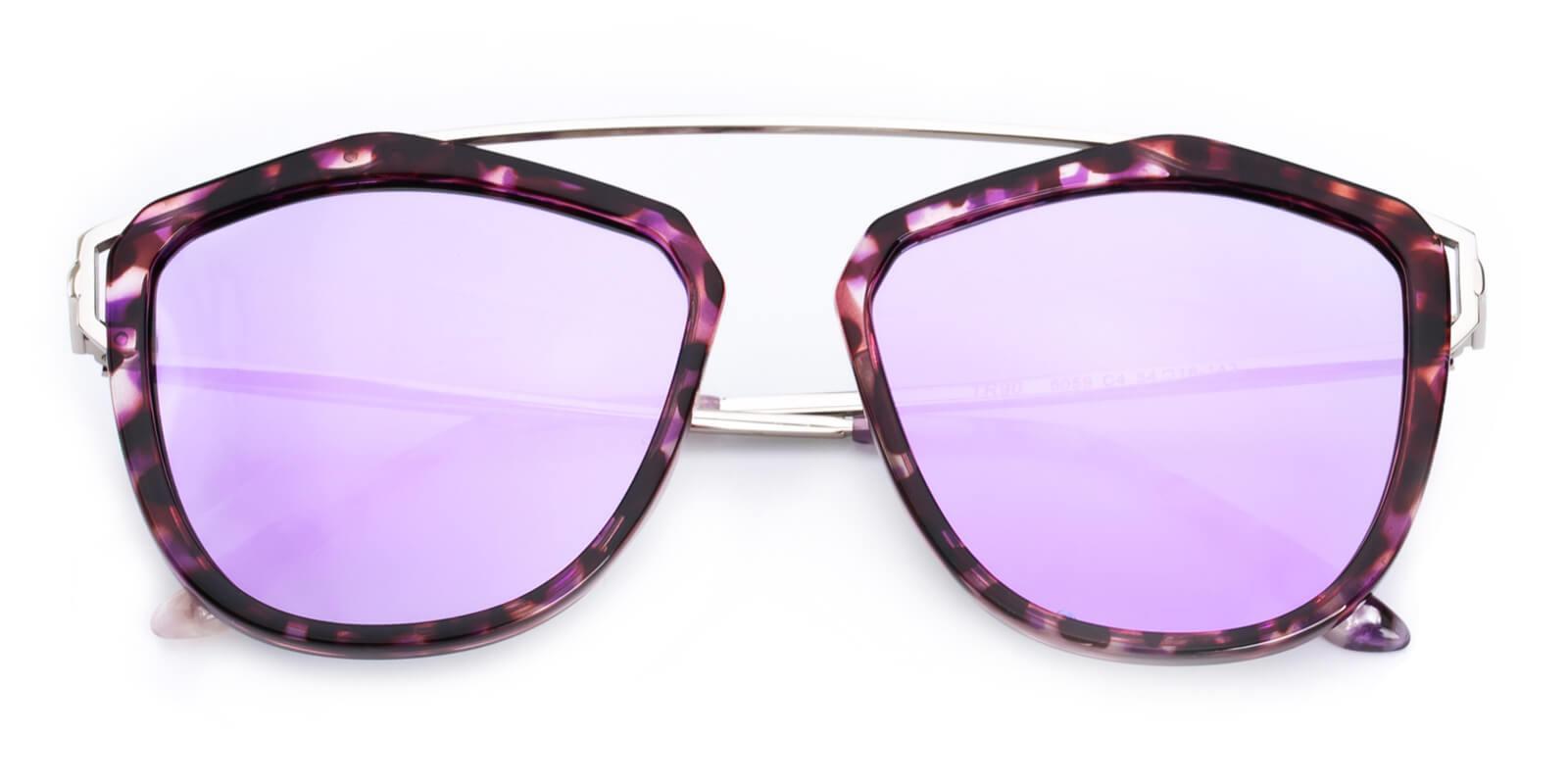 Phantom-Purple-Aviator-Combination / Metal / TR-Sunglasses-detail