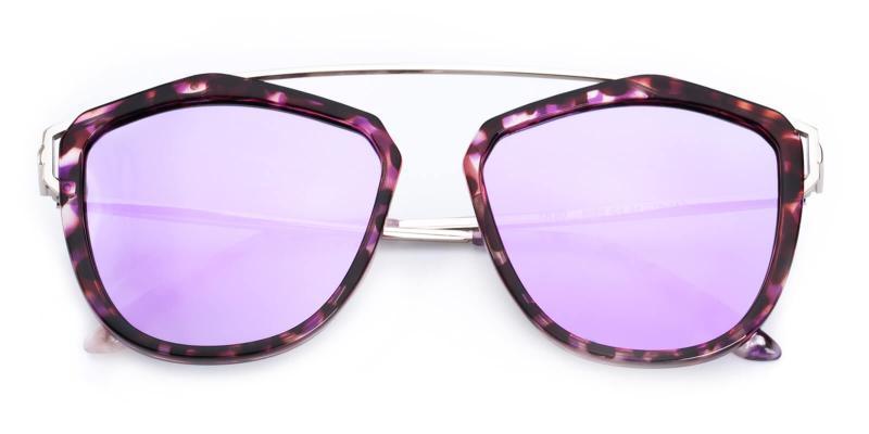 Phantom-Purple-Sunglasses / UniversalBridgeFit