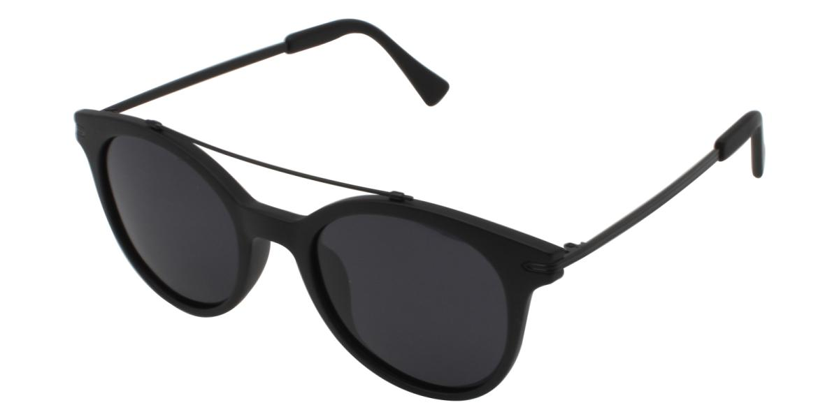Meadow-Black-Aviator-Combination / Metal / TR-Sunglasses-additional1