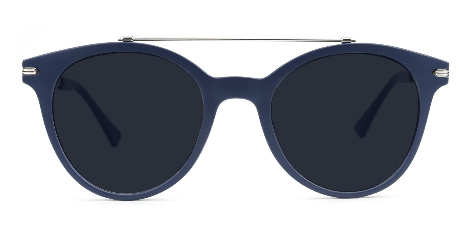 Meadow-Blue-Aviator-Metal / Combination / TR-Sunglasses-detail