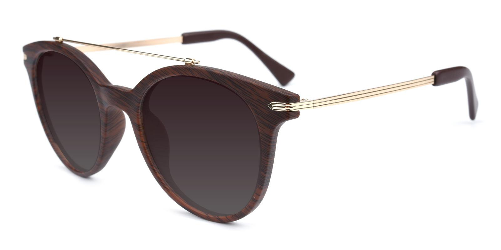 Meadow-Brown-Aviator-Combination / Metal / TR-Sunglasses-additional1