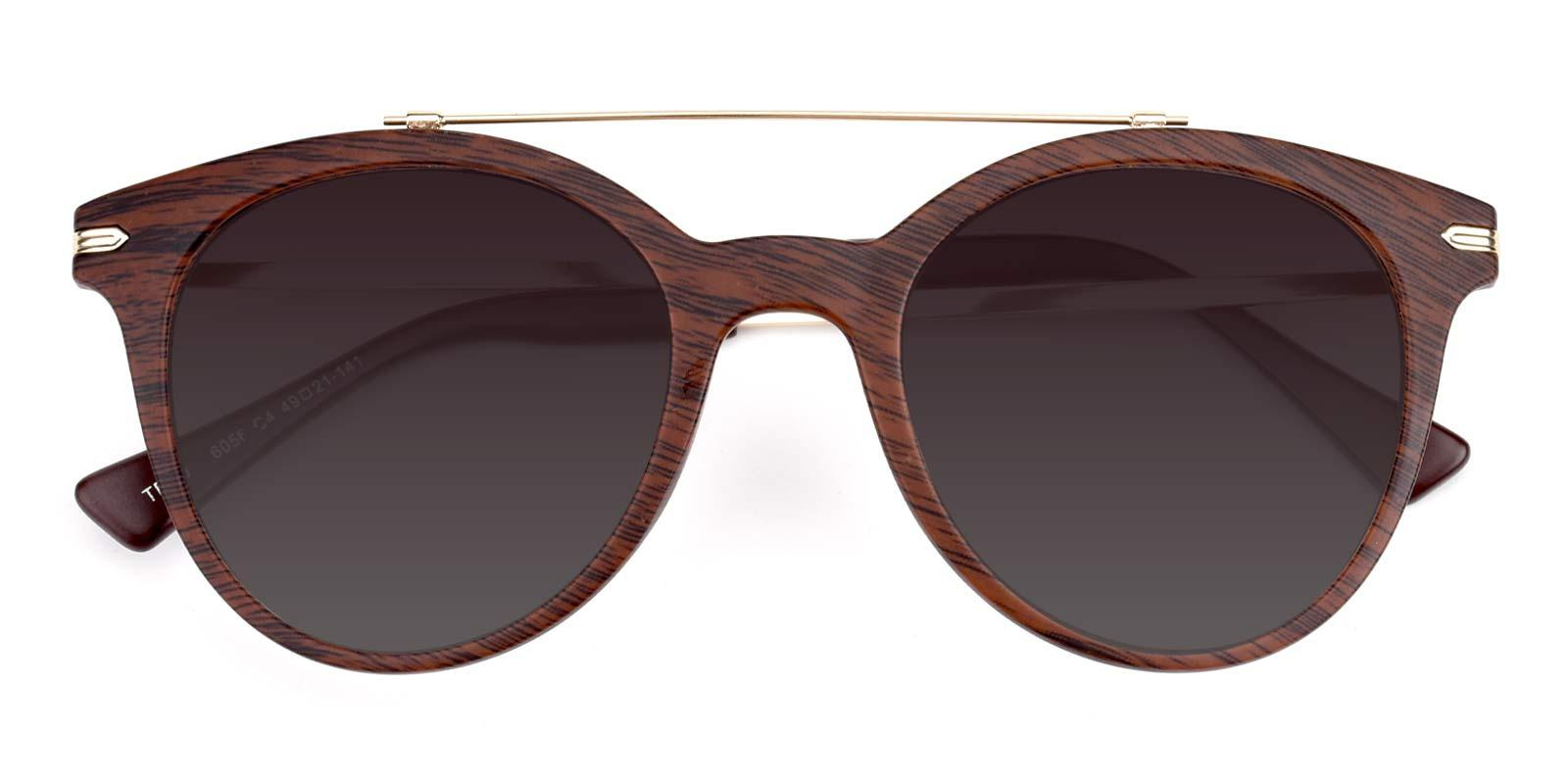 Meadow-Brown-Aviator-Combination / Metal / TR-Sunglasses-detail