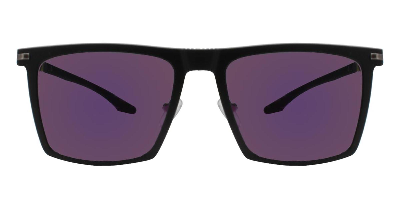 Bogota-Black-Square-Metal / Combination / TR-Sunglasses-additional2