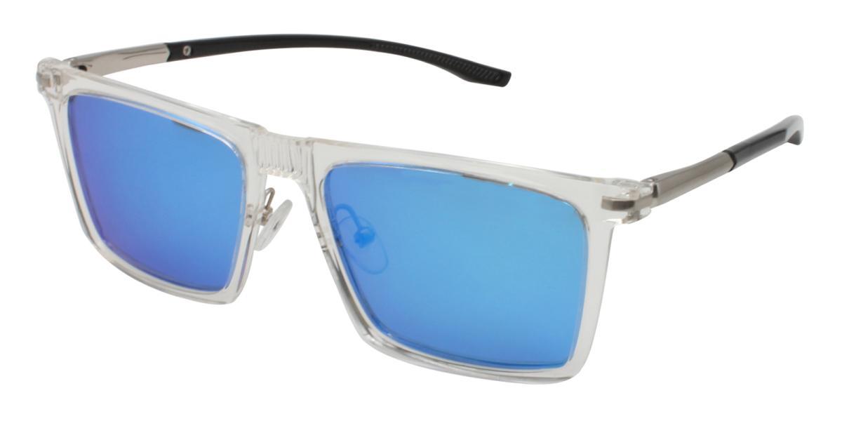 Bogota-Translucent-Square-Combination / Metal / TR-Sunglasses-additional1