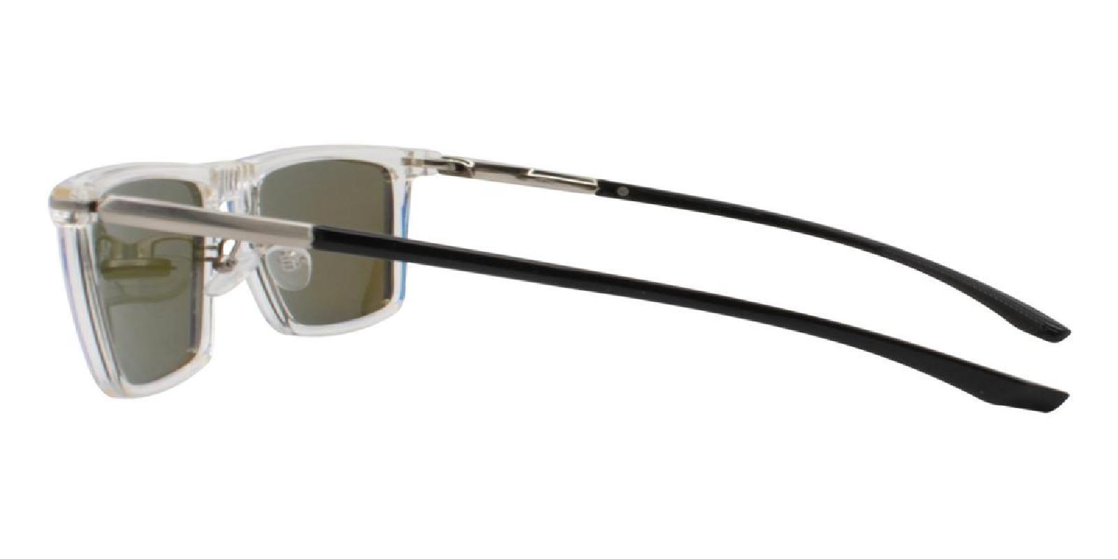 Bogota-Translucent-Square-Combination / Metal / TR-Sunglasses-additional3