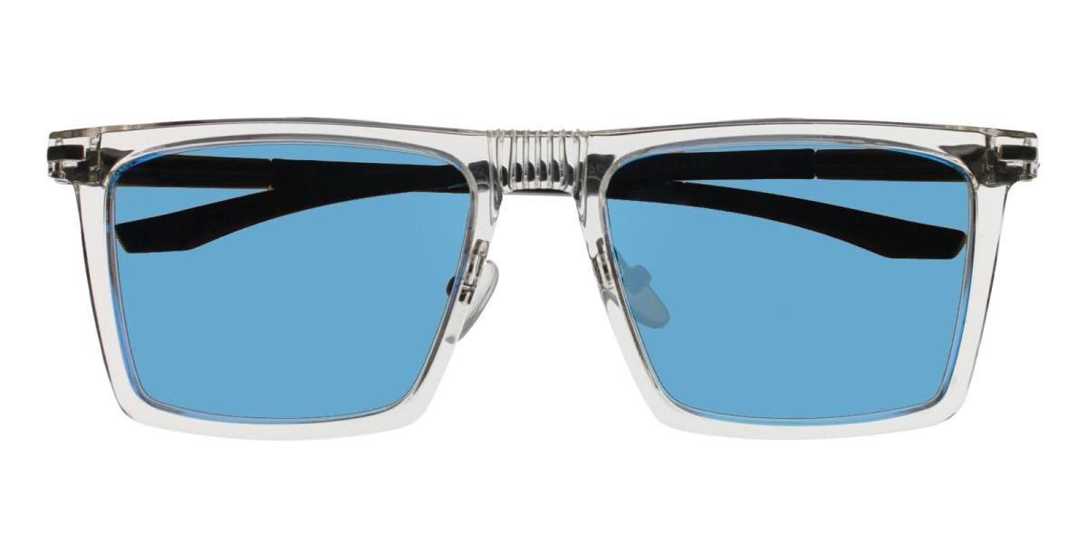Bogota-Translucent-Square-Combination / Metal / TR-Sunglasses-detail