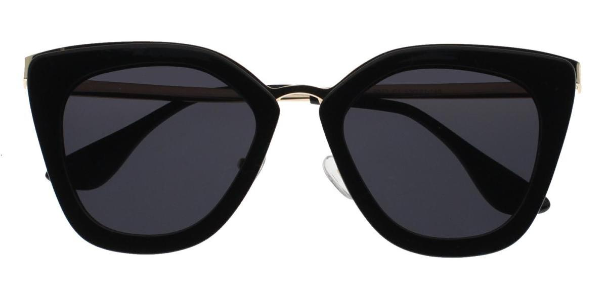 Brin-Black-Cat-Metal / Combination / TR-Sunglasses-detail