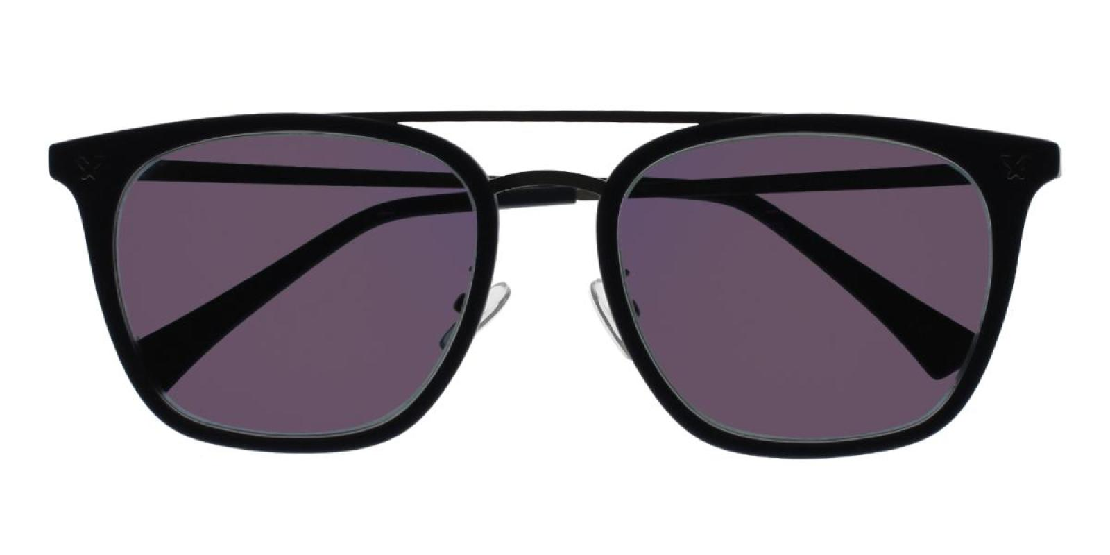 Seagual-Blue-Aviator-Metal / Combination / TR-Sunglasses-detail