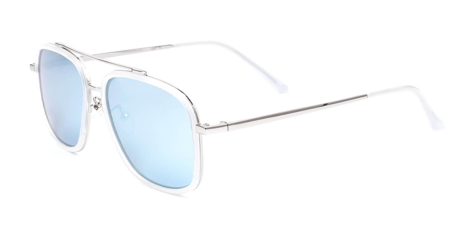 Clinton-Translucent-Aviator-Metal / Combination / TR-Sunglasses-additional1
