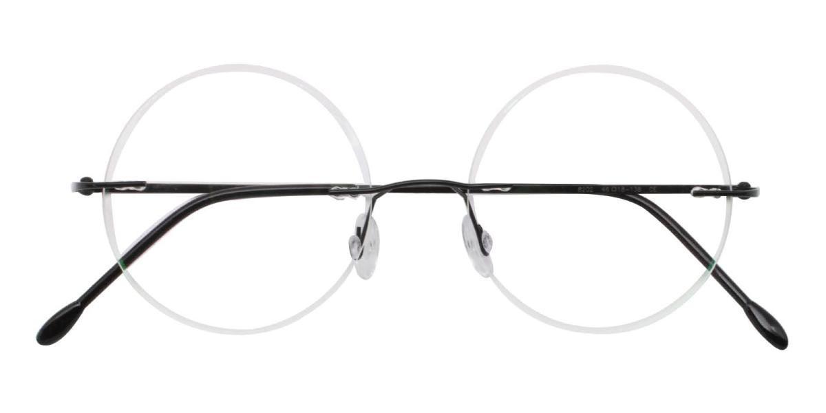 Knewphey-Black-Varieties-Metal-Eyeglasses-detail