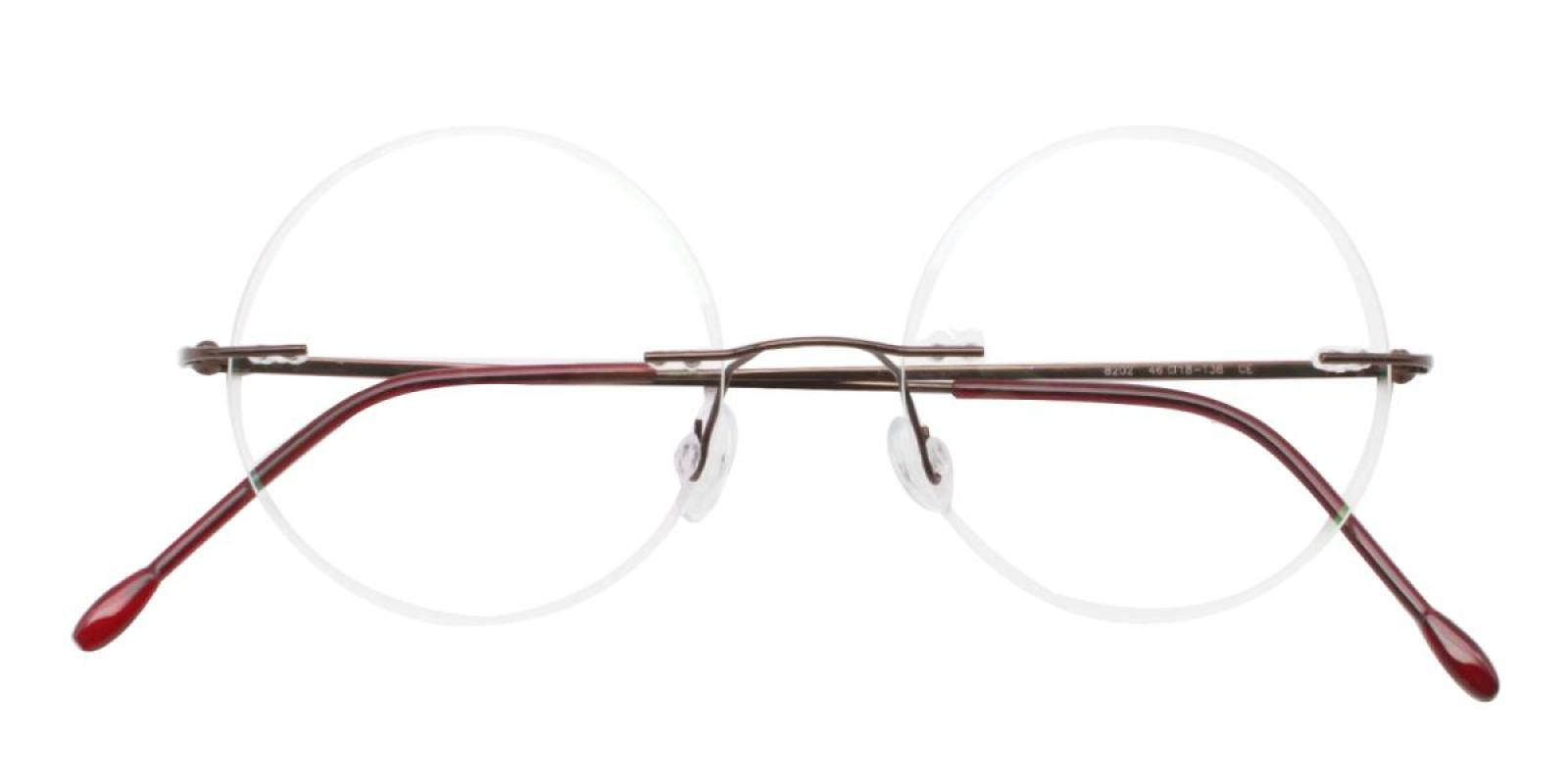 Knewphey-Brown-Varieties-Metal-Eyeglasses-detail