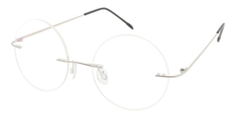 Knewphey-Silver-Eyeglasses
