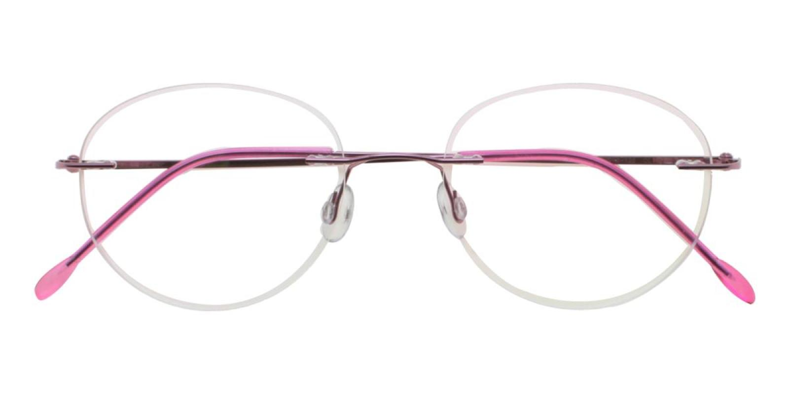 Ditto-Pink-Varieties-Metal-Eyeglasses-detail