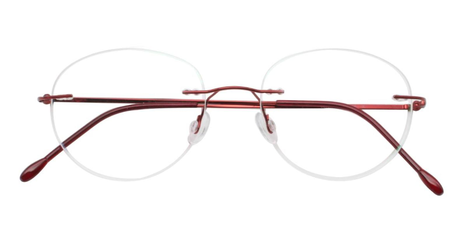 Ditto-Red-Varieties-Metal-Eyeglasses-detail
