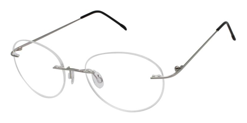 Ditto-Silver-Eyeglasses / NosePads