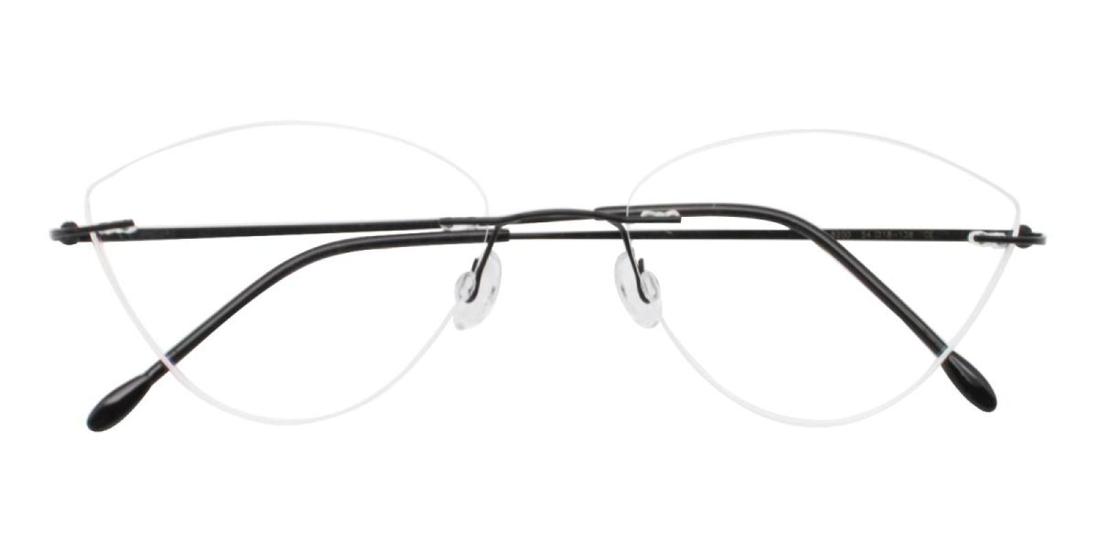 Huram-Black-Cat / Varieties-Metal-Eyeglasses-detail