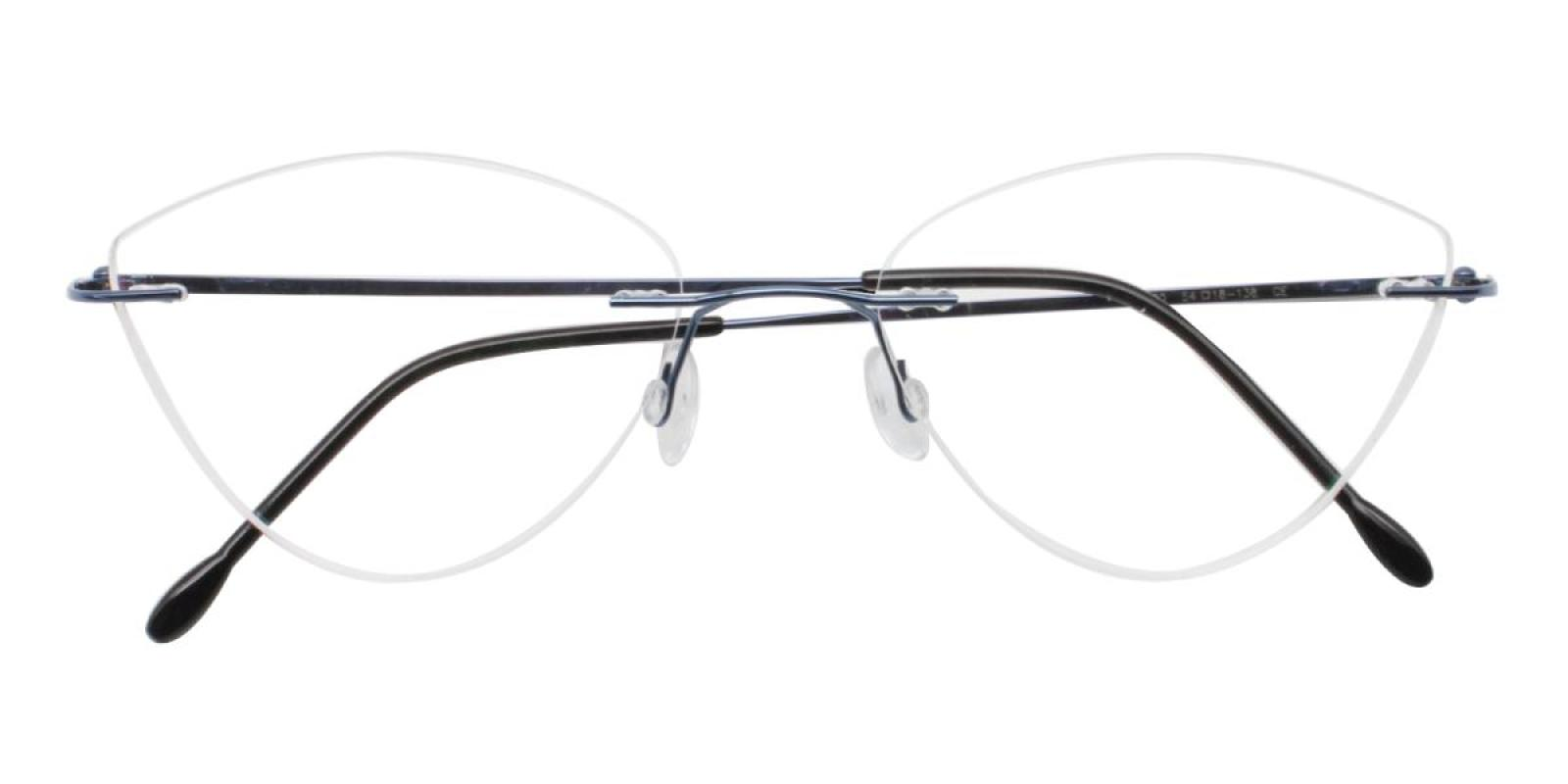 Huram-Blue-Cat / Varieties-Metal-Eyeglasses-detail