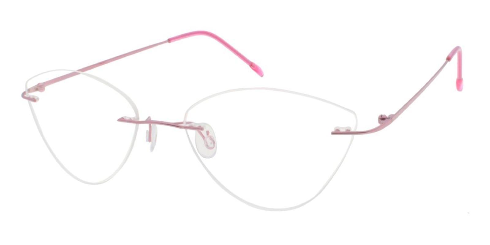 Huram-Pink-Cat / Varieties-Metal-Eyeglasses-additional1