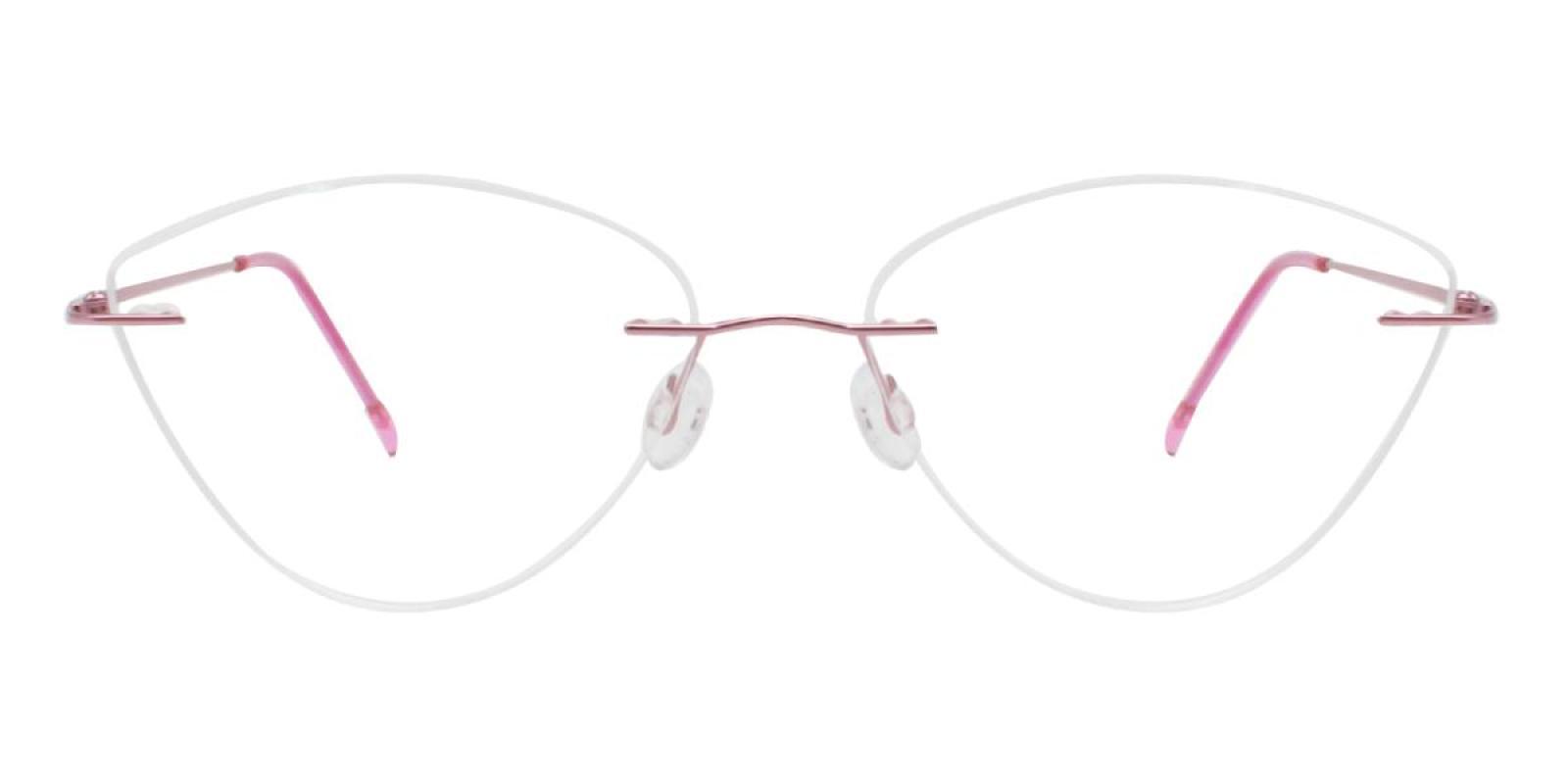 Huram-Pink-Cat / Varieties-Metal-Eyeglasses-additional2