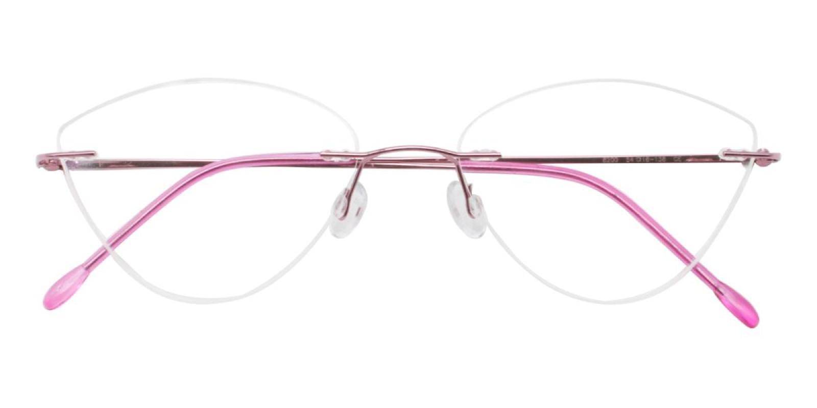 Huram-Pink-Cat / Varieties-Metal-Eyeglasses-detail
