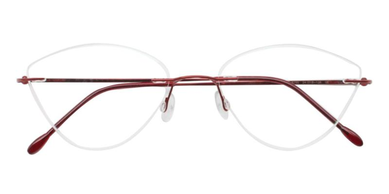Huram-Red-Eyeglasses