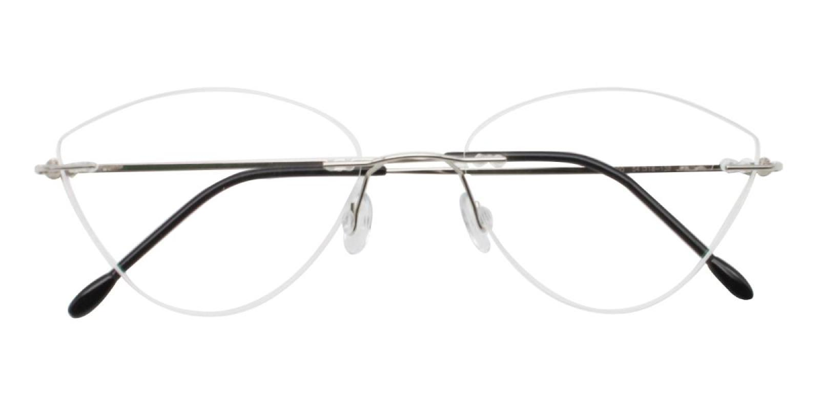 Huram-Silver-Cat / Varieties-Metal-Eyeglasses-detail