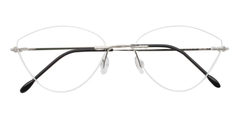 Huram-Silver-Eyeglasses