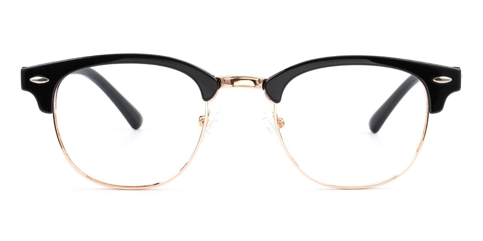 Creative-Black-Browline-Metal / Combination / Plastic-Eyeglasses-additional2