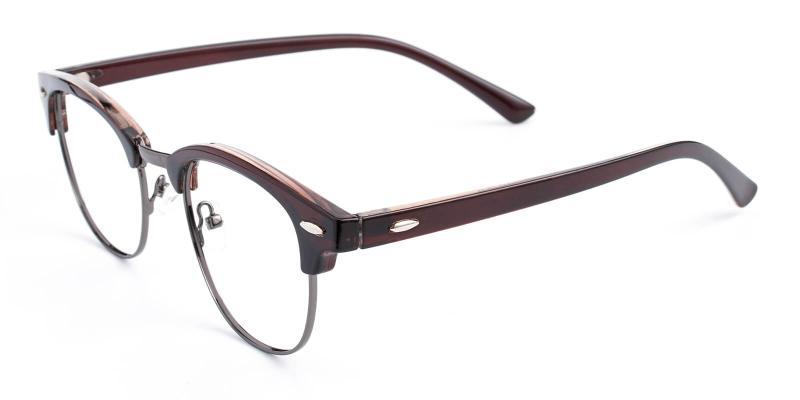 Creative-Brown-Eyeglasses