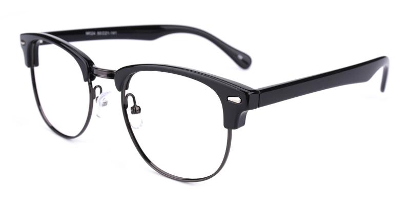 Ferrous-Black-Eyeglasses