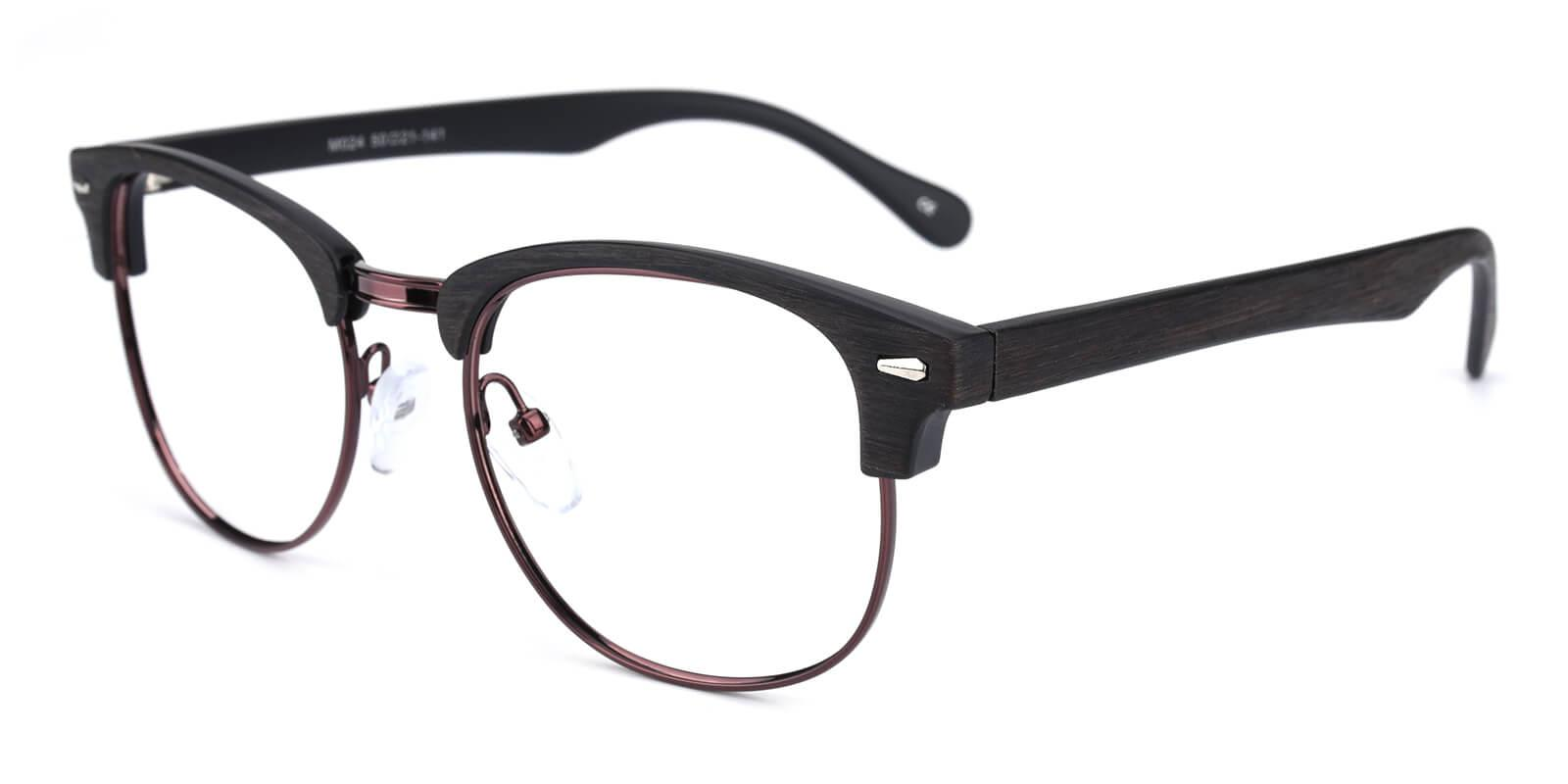 Ferrous-Gun-Browline-Metal / Combination / Plastic-Eyeglasses-additional1