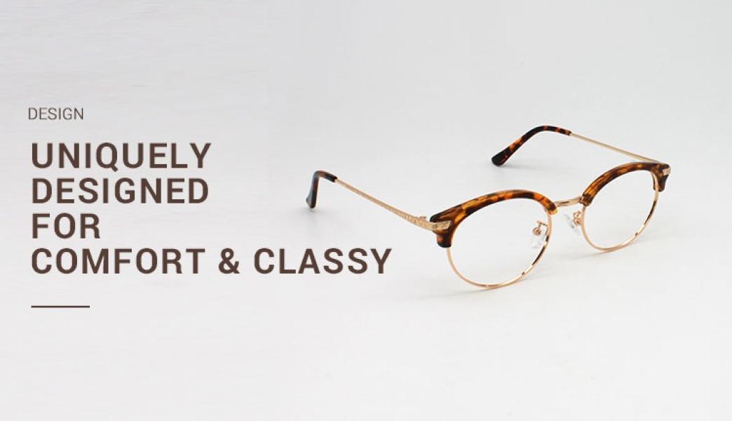 Atlandis-Leopard-Combination / Metal / TR-Eyeglasses-detail3