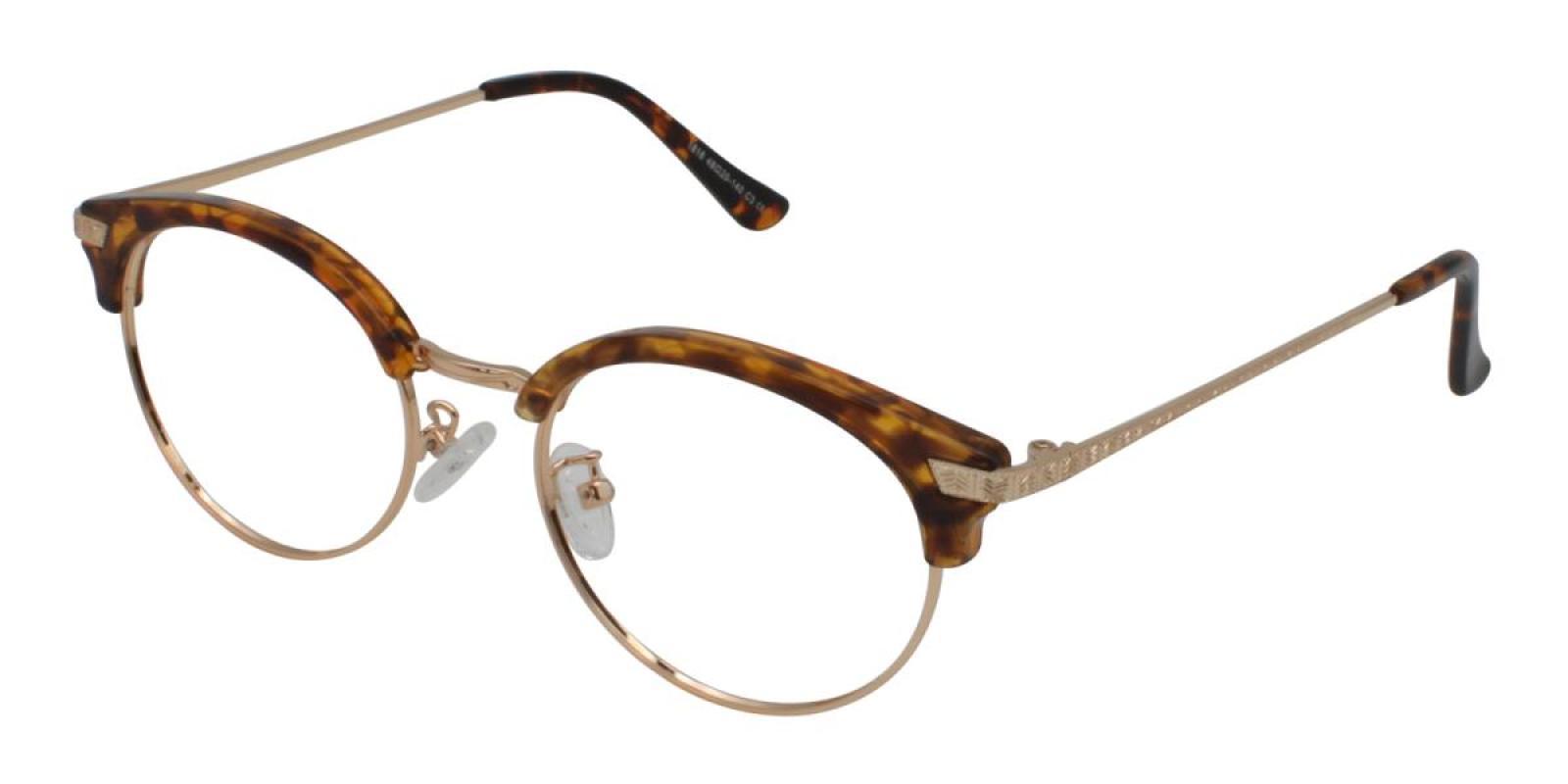 Atlandis-Leopard-Browline-Combination / Metal / TR-Eyeglasses-additional1