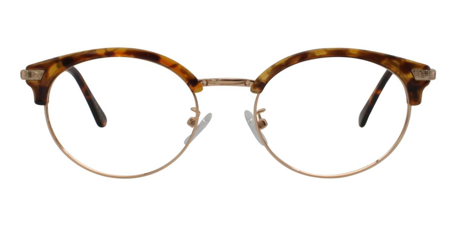 Atlandis-Leopard-Browline-Combination / Metal / TR-Eyeglasses-additional2