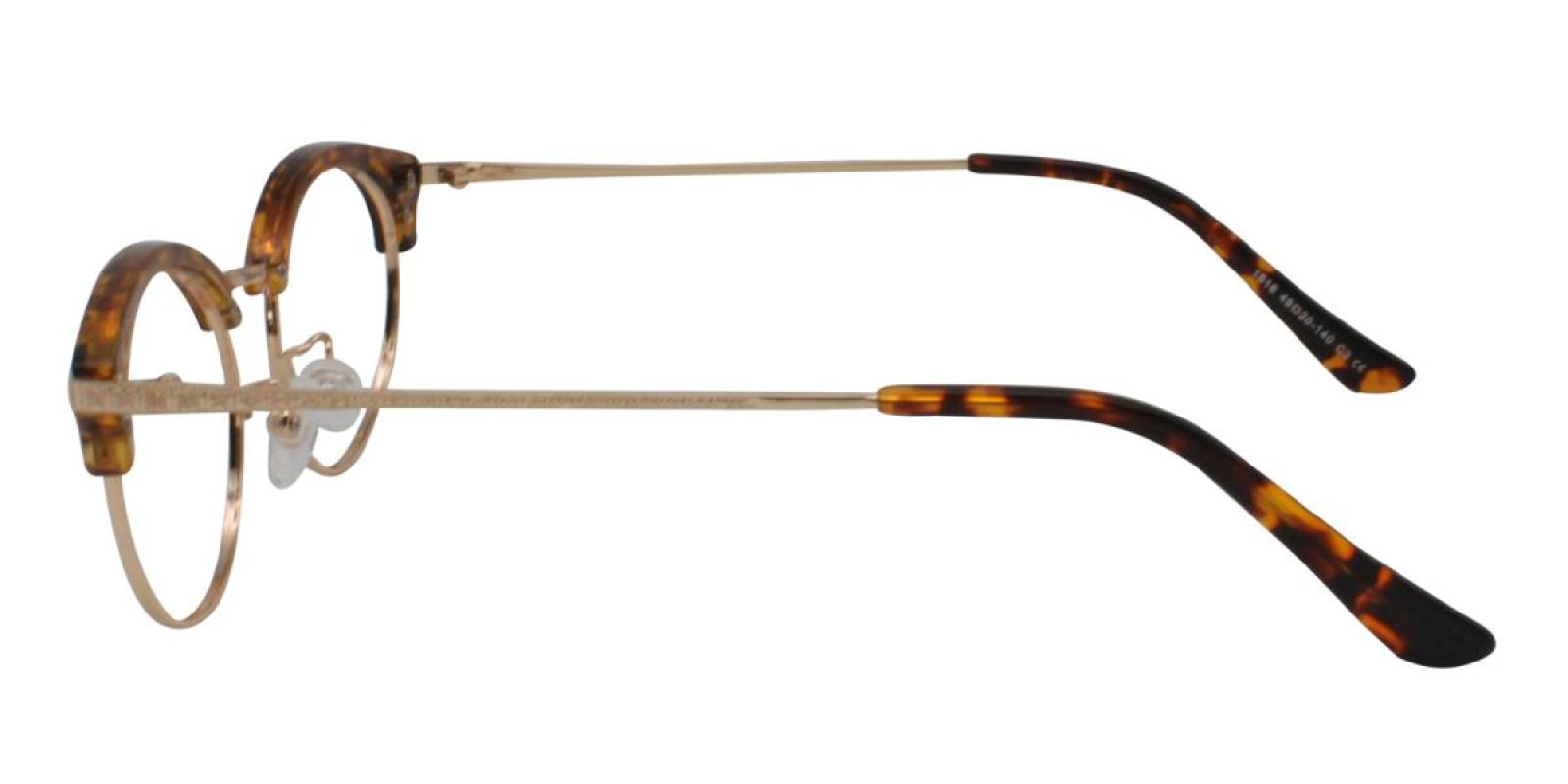 Atlandis-Leopard-Browline-Combination / Metal / TR-Eyeglasses-additional3