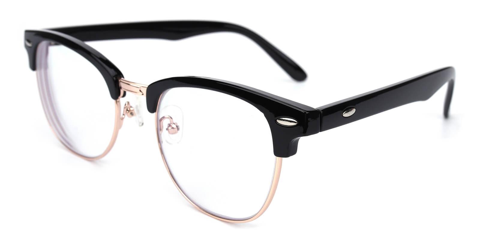 Ancient-Black-Browline-Metal-Eyeglasses-additional1