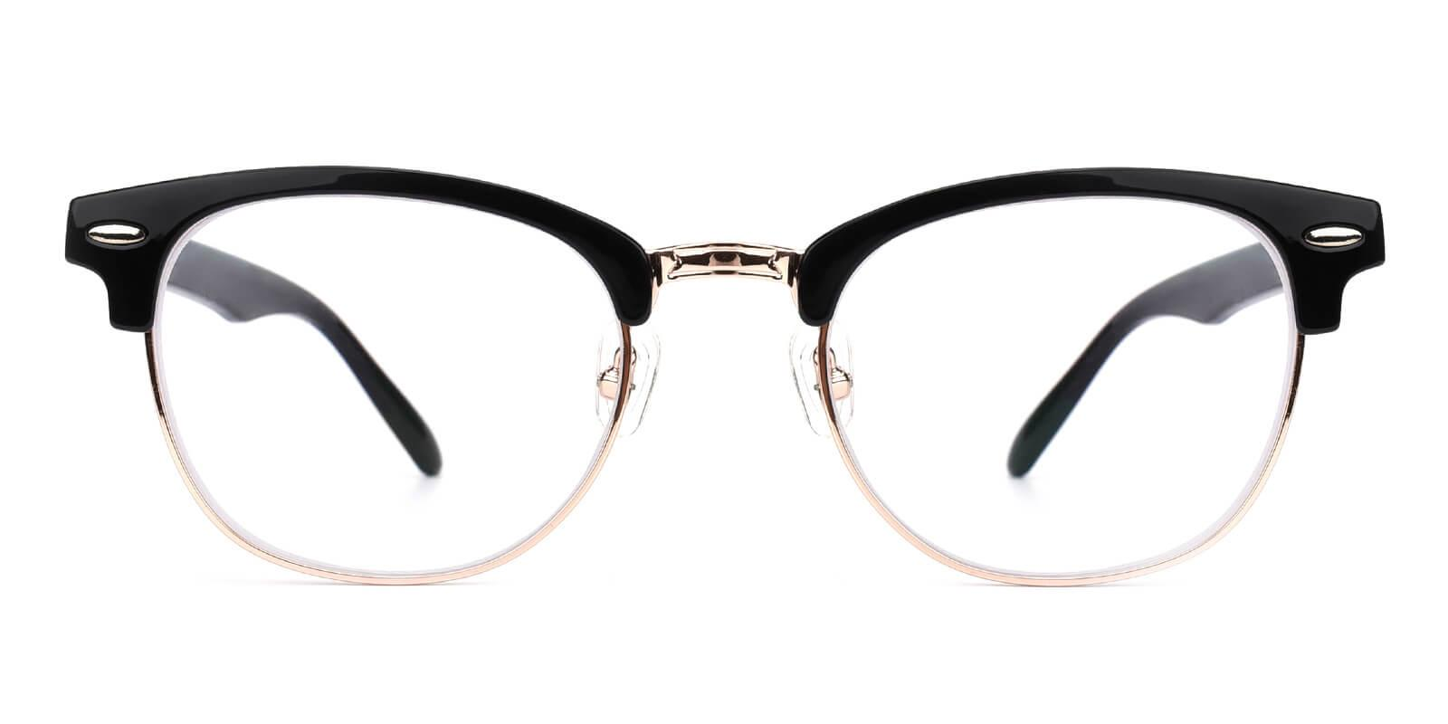 Ancient-Black-Browline-Metal-Eyeglasses-additional2