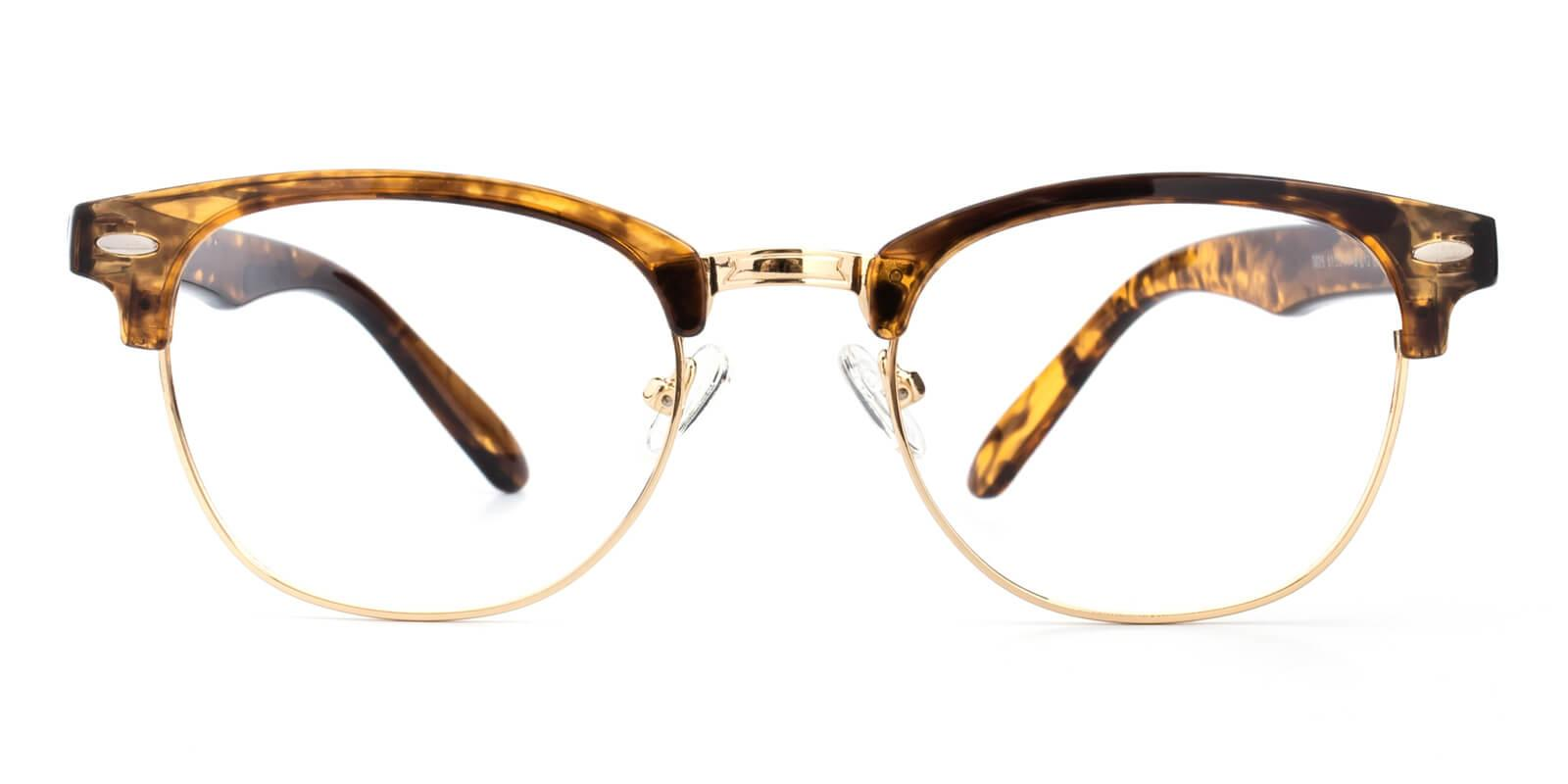 Ancient-Gold-Browline-Metal-Eyeglasses-detail