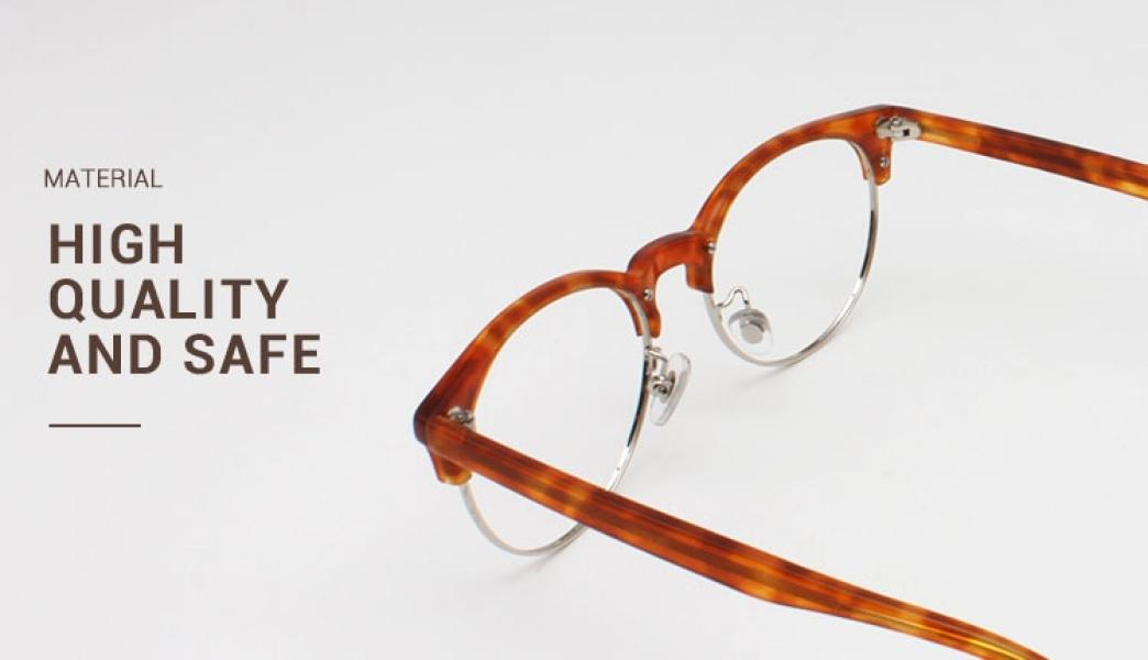 Esteban-Red-Metal / Combination / TR-Eyeglasses-detail2