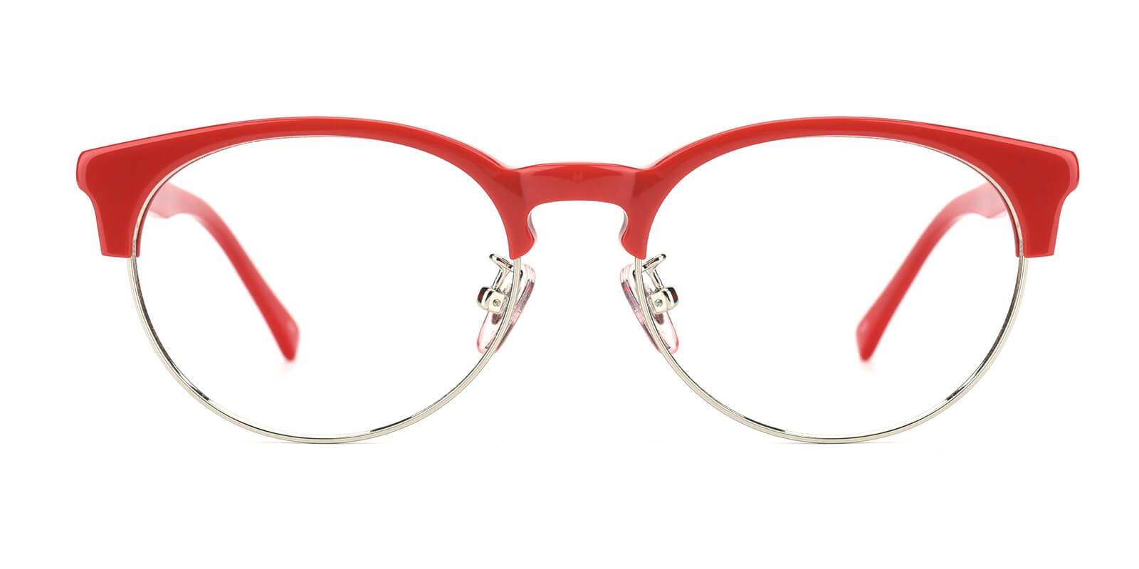 Esteban-Red-Browline-Metal / Combination / TR-Eyeglasses-additional2