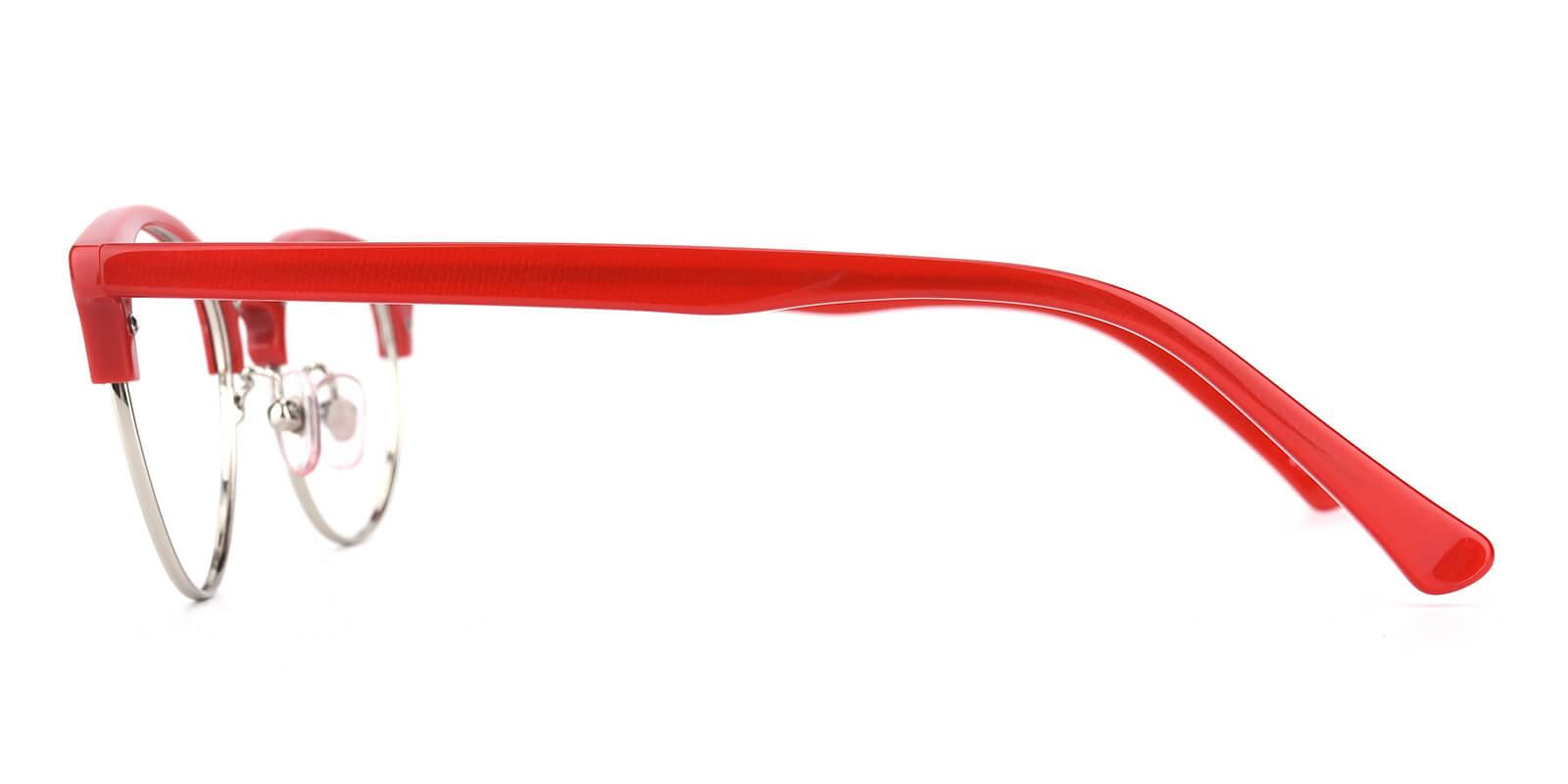 Esteban-Red-Browline-Metal / Combination / TR-Eyeglasses-additional3