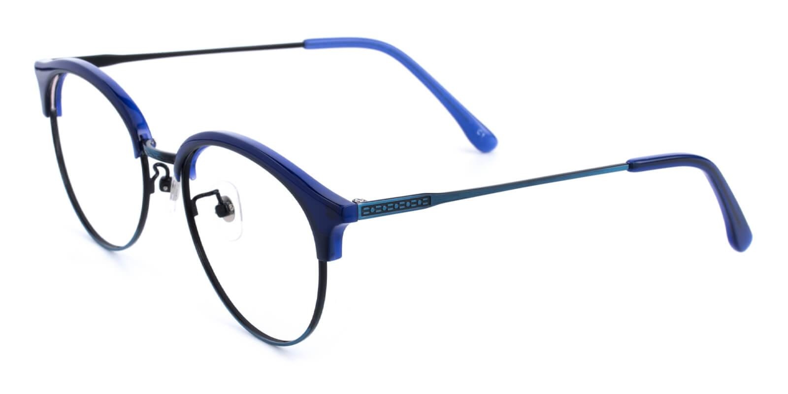 Avenue-Blue-Browline-Metal / Combination / TR-Eyeglasses-additional1