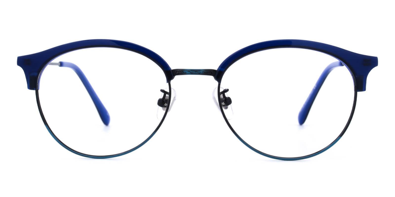 Avenue-Blue-Browline-Metal / Combination / TR-Eyeglasses-additional2